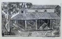 Quadro di Maria Grazia Bianchi Martelli  Casa in campagna