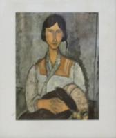 Quadro di Amedeo Modigliani  Figura