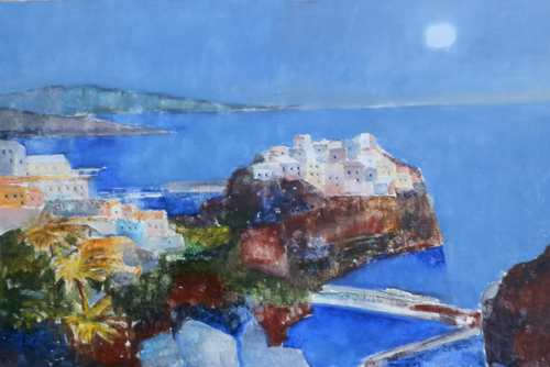 Quadro di Lido Bettarini Marina, olio su tela 80 x 120 | FirenzeArt Galleria d'arte
