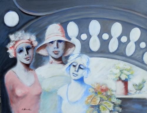 Quadro di Umberto Bianchini Sogno - Pittori contemporanei galleria Firenze Art