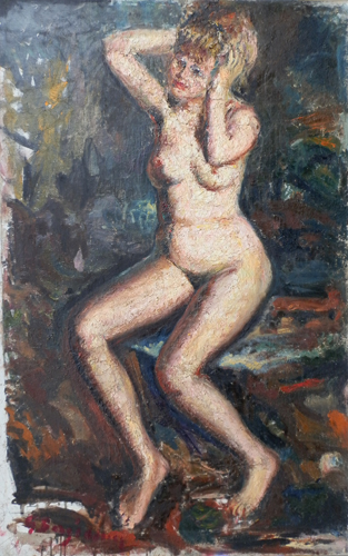 Quadro di Guido Borgianni Nudo - olio tela