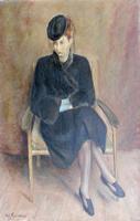 Edmondo Prestopino - Figura di donna