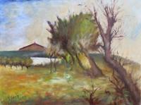 Quadro di G. Giampa  Paesaggio