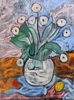 Quadro di Alvaro Baragli  Vaso di  fiori