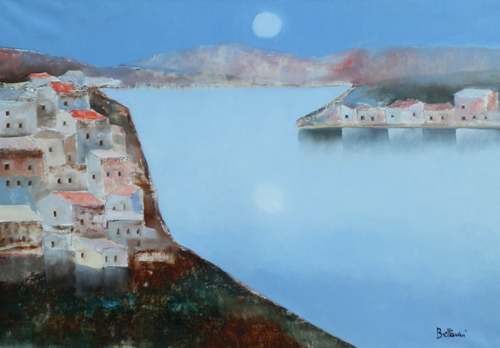 Quadro di Lido Bettarini Paesaggio , olio su tela 70 x 100 | FirenzeArt Galleria d'arte
