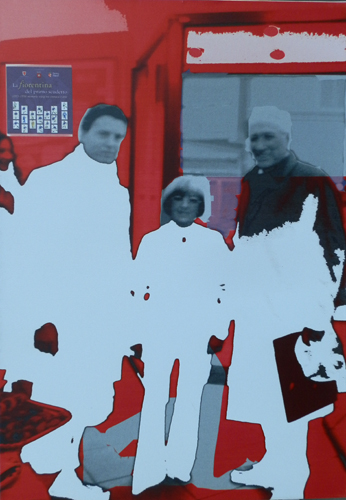 Quadro di Andrea Tirinnanzi Incontri - digital art tela
