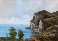 Quadro di Giulio Apicella  Paesaggio