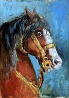 Quadro di Carlo Chelini  Cavallo