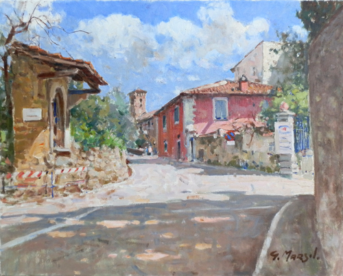 Art work by Graziano Marsili Fiesole - oil canvas