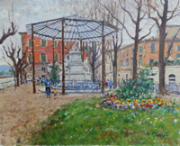 Work of Graziano Marsili  Piazza Demidoff - Firenze