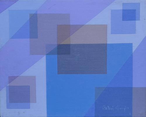 Quadro di Giorgio Balani Dinamismo Spaziale - acrilico tela