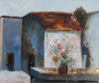 Quadro di Giorgio Sansoni - Composizione olio tela