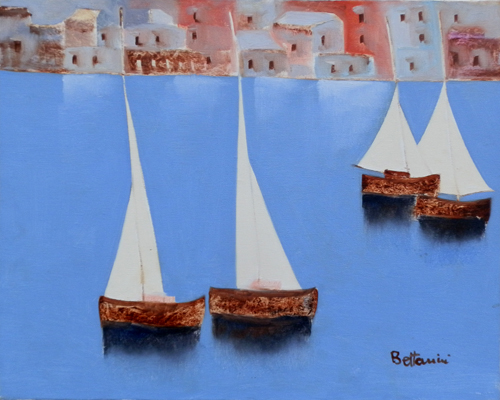 Artwork by Lido Bettarini, oil on canvas | Italian Painters FirenzeArt gallery italian painters
