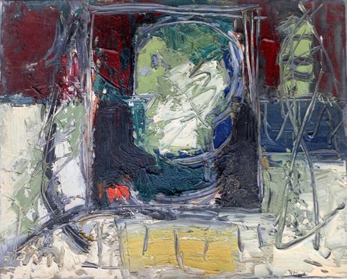 Quadro di Emanuele Cappello Testa muliebre, olio su tela 40 x 50 | FirenzeArt Galleria d'arte