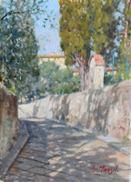 Quadro di Graziano Marsili  Via San Leonardo