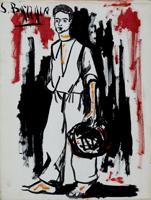 Work of S. Barraco - Figura acrylic canvas