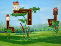 Quadro di Franco Lastraioli - Le ore di riposo olio tela