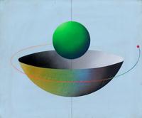 Quadro di Filippo Degasperi - Situazione acrilico tela