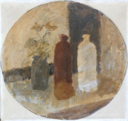 Art work by Roberto Ciabani Composizione - oil canvas