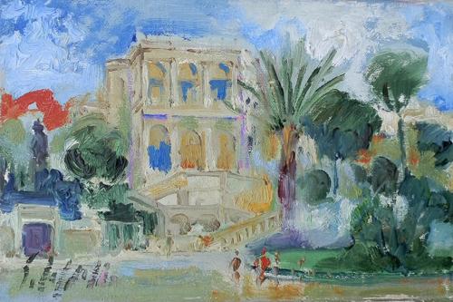 Quadro di Emanuele Cappello Montecarlo - olio tela