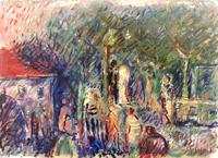 Quadro di Emanuele Cappello  Paesaggio