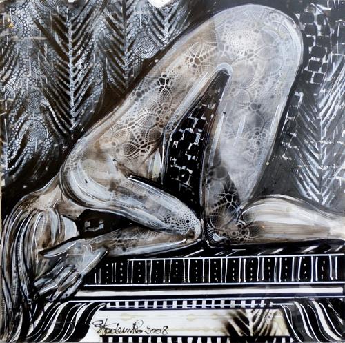 Quadro di Piergiovanni Staderini Musica sensuale - mista plexigas