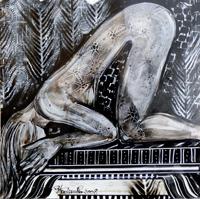 Quadro di Piergiovanni Staderini  Musica sensuale