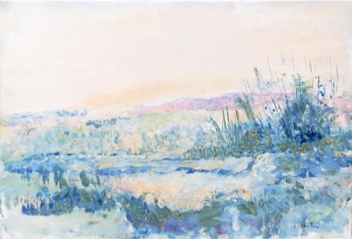 Quadro di Liù Venturi Paesaggio - olio tela
