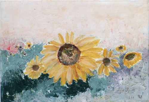 Art work by Liù Venturi Girasoli - oil canvas