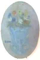 Quadro di A. Bini - Fiori olio tela