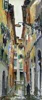 Work of Rodolfo Marma  Vicolo del gomitolo d'oro