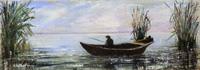 Quadro di Loredana Rizzetto  Pescatore