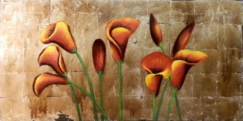 Art work by A. Rtur Fiori - mixed canvas