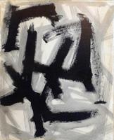 Quadro di Franco Lastraioli - Astratto mista carta su tela
