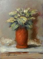 Quadro di Umberto Bianchini - Fiore olio tela