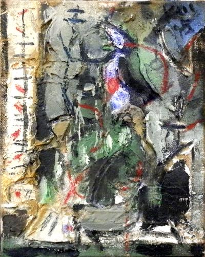 Quadro di  Kapel (Cappello) Astratto - olio tela