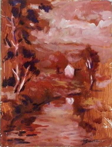 Quadro di Luigi Pignataro Paesaggio - Pittori contemporanei galleria Firenze Art
