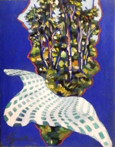 Quadro di Luigi Pignataro Picnic - Pittori contemporanei galleria Firenze Art
