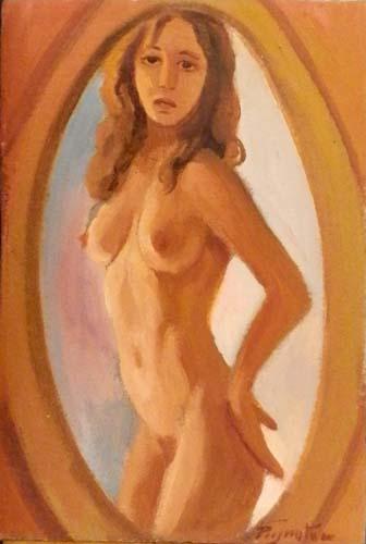 Quadro di Luigi Pignataro Nudo - mista cartone