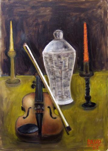 Art work by  Beucci Composizione - oil canvas