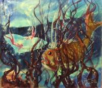 Quadro di  Govoni  In fondo al mar