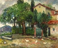 Quadro di Mario Bucci  Paesaggio
