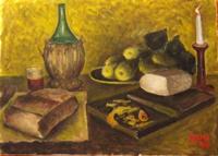 Quadro di  Beucci - Composizione olio tela