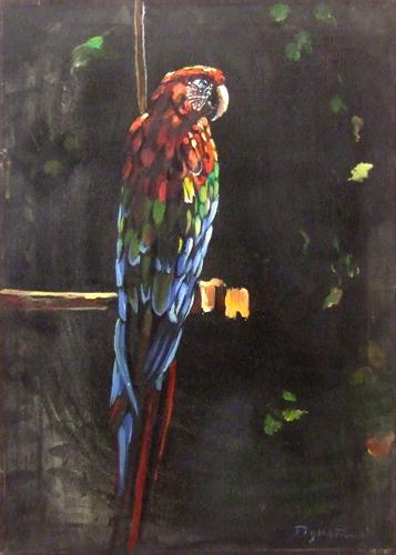 Art work by Luigi Pignataro Pappagallo - oil canvas