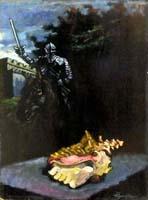 Work of Luigi Pignataro  Cavaliere e Conchiglia