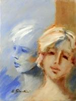 Quadro di Umberto Bianchini  Ragazze