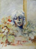 Umberto Bianchini - Volto e fiori