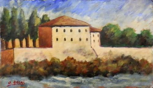 Artwork by  Copie d'Autore, oil on cardboard | Italian Painters FirenzeArt gallery italian painters