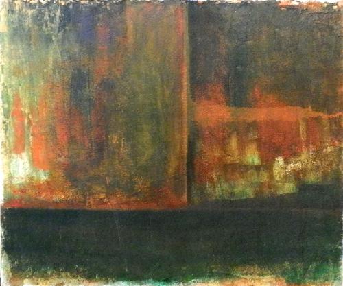 Quadro di W. Butera Astratto - olio tela