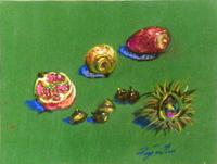 Work of Luigi Pignataro - Natura Morta mixed tissue